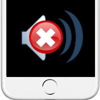 iPhone 7 нет звука