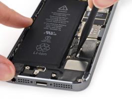 iPhone 5S. Замена аккумулятора.